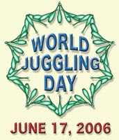 World Juggling Day 2006 Logo